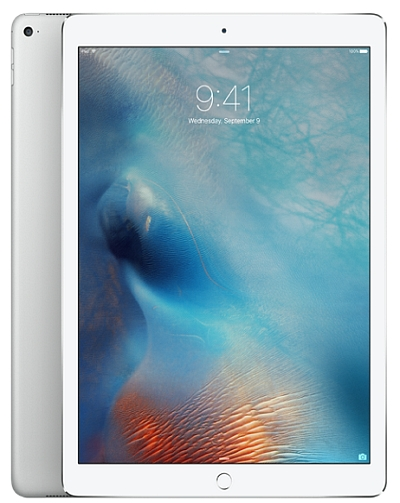 Apple iPad Pro with 128 Gb WiFi only Silver (12.9 inches)