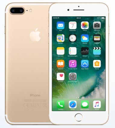 Apple iPhone 7 PLUS 128GB, Gold in Saudi Arabia price
