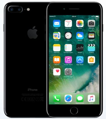 Apple iPhone 7 PLUS 128GB, Super Black