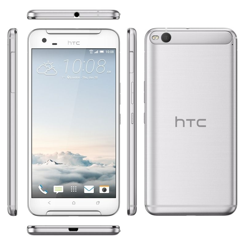HTC One X9, Opal Silver, 32GB