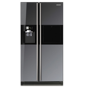 Samsung side-by-side refrigerator RS21HPLMRA 21 cu.ft